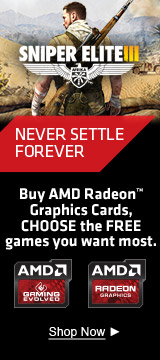 Buy select AMD Radeon™ Graphics Cards, CHOOSE the FREE games you want most