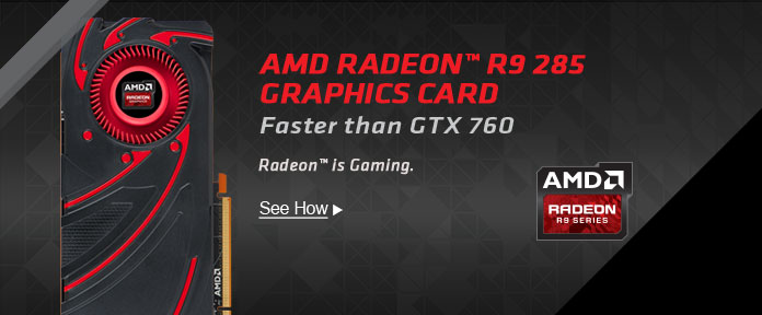 AMD Radeon R9 285 Graphics Card