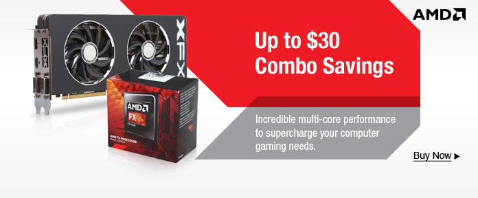 Up to $30 Combo Savings