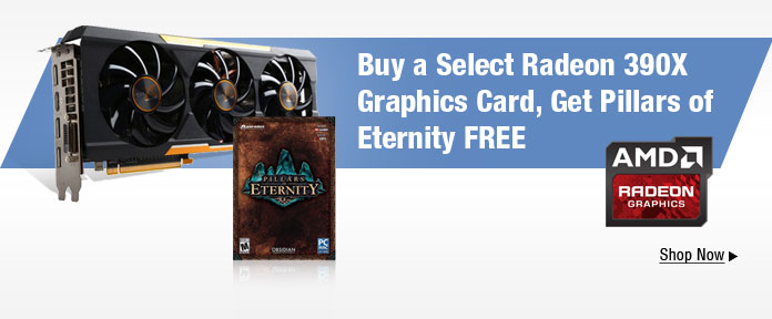 Buy A Select Radeon 390X Graphics Card, Get Pillars Of Eternity Free