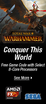 Free Game Code with Select 8-Core Processor