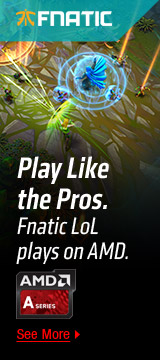Play Like the Pros. Fnatic LoL plays on AMD