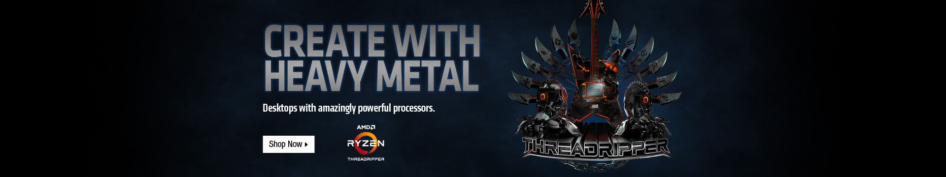 CREATE WITH HEAVY METAL