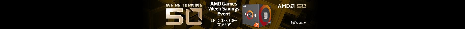 AMD Games Week Savings Event