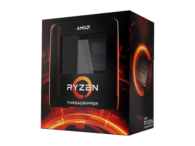 AMD Ryzen Threadripper 3970X 32-Core 3.7 GHz Socket sTRX4 280W 100-100000011WOF Desktop Processor