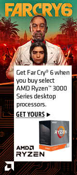 Get Far Cry 6 when you buy select AMD Ryzen 3000 series desktop processors
