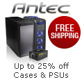 Up to 25% off + FREE SHIPPING on All Cases and PSUs