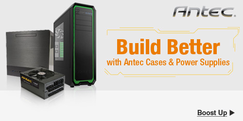 Build Better with Antec Cases and PSUs