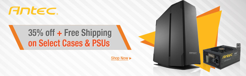 Up to 35% off + Free Shipping_ on Cases & PSUs Below