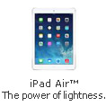 iPad Air The Power of Lightness