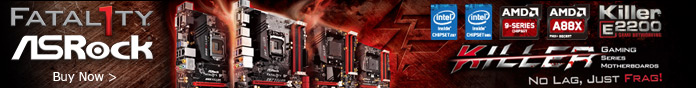 Killer Gaming Series Motherboards