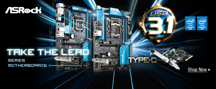 Take the Lead — ASRock