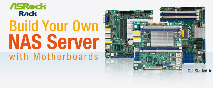 Build Your Own NAS Server