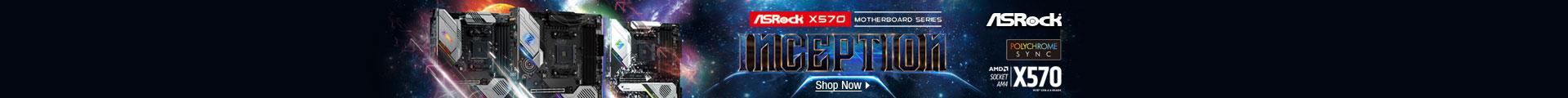 ASRock X570 MOTHERBOARD SERIES