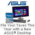 File Your Taxes This Year with a new ASUS Desktop
