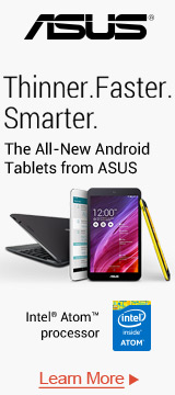 All-New Android Tablets From ASUS