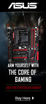 Arm yourself with the core of gaming - Asus Rog Crossblade Ranger