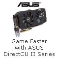 ASUS directCU II series game faster quieter cooler