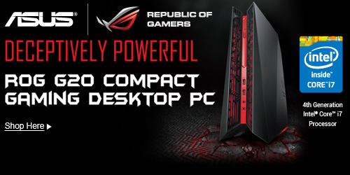 Rog G20 compact gaming desktop PC