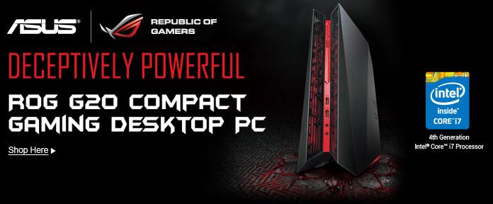 Rog G20 compact gaming desktop PC