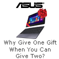 WHY GIVE ONE GIFT WHEN YOU CAN GIVE TWO?