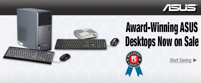 Award- Winning ASUS Desktop Now on Sale