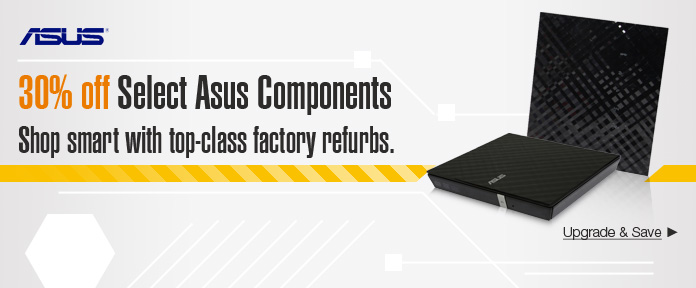 30% off select Asus Components