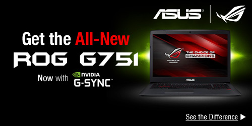 Get the All-New G751