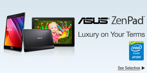 Asus ZenPad™ Luxury on Your Terms