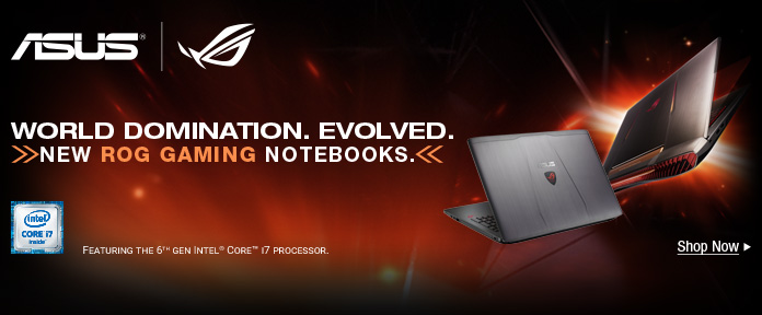 ASUS World Domination. Evolved