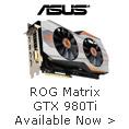 ROG MATRIX GTX 980TI