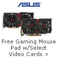 Buy Select Video Cards, Get a Free Gaming Mouse Pad