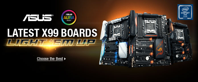 LATEST X99 BOARDS