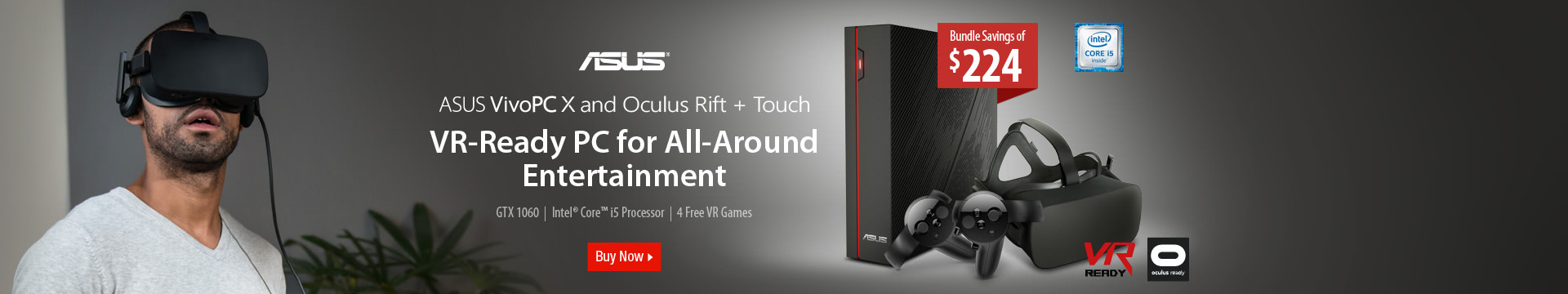 VR-Ready PC for All-Around Entertainment