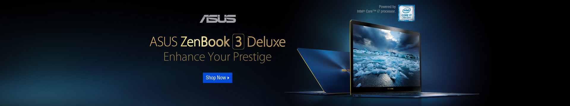 ASUS ZENBOOK 3 DELUXE ENHANCE YOUR PRESTIGE