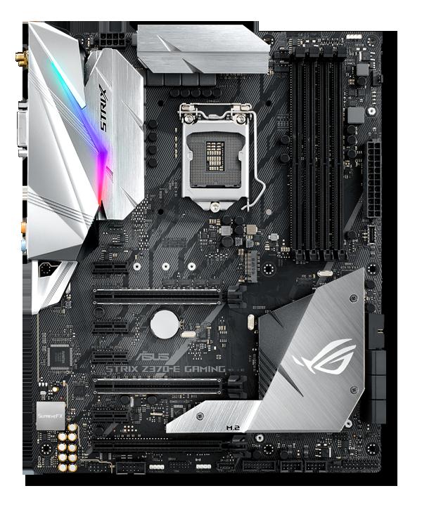 ASUS ROG Strix Z370-E Gaming LGA 1151 (300 Series) Intel Z370