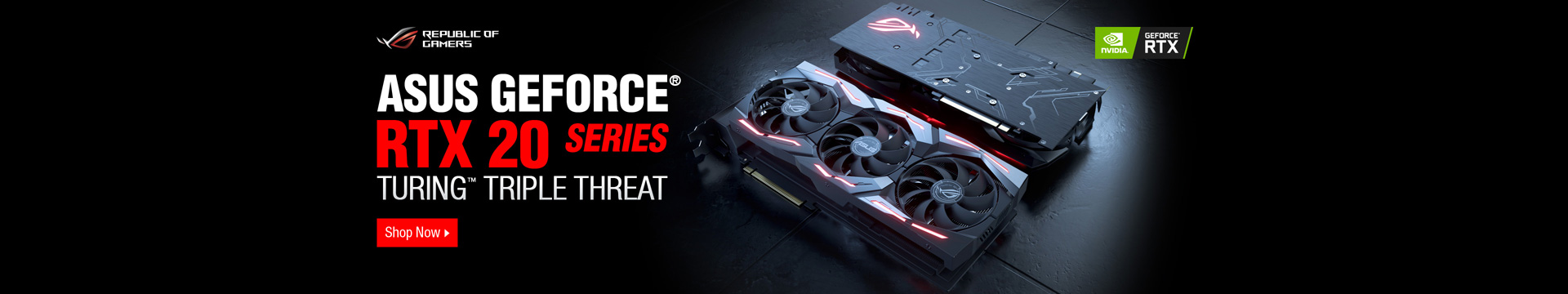 ASUS GEFORCE RTX20 SERIES