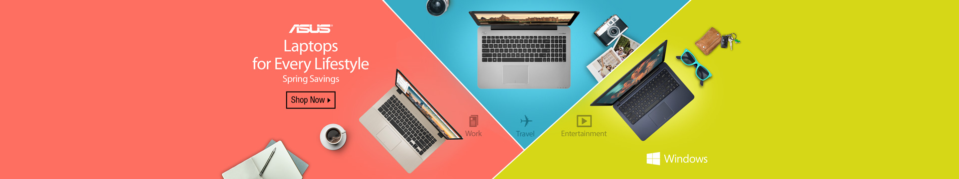 Laptops for every lifestyle spring savings