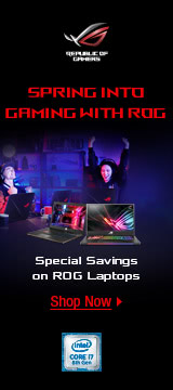 Spring Into Gaming with ROG
