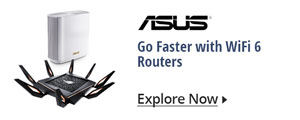 Go Faster with WiFi 6 Routers