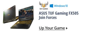 ASUS TUF Gaming FX505 Join Forces