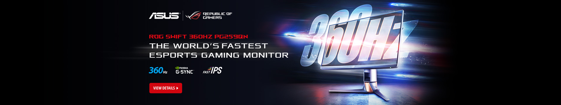The World's Fastest Esports Gaming Monitor