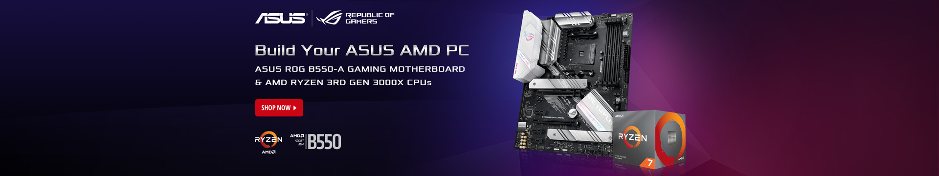 Build Your ASUS AMD PC