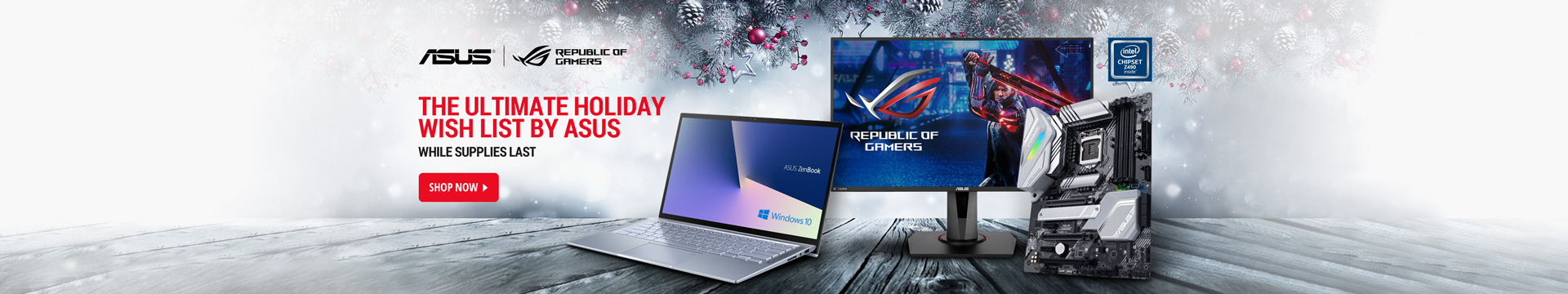 The Ultimate Holiday Wish List by Asus
