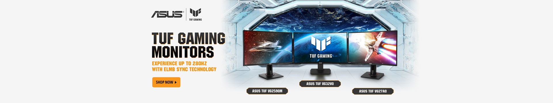 Asus TUF Gaming monitors