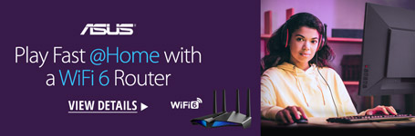 Play Fast @Home With a WiFi 6 Router