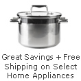 Great Savings + Free Shipping on Select Home Appliance