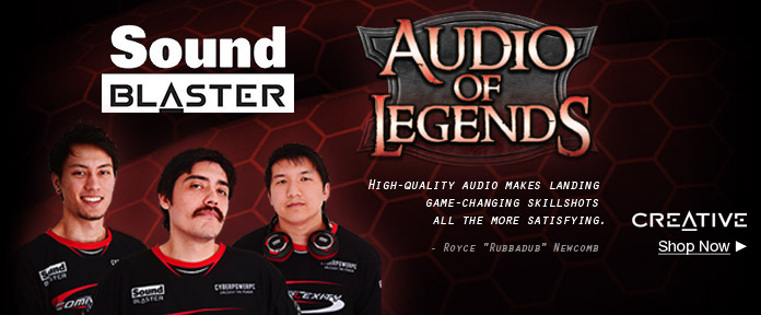 Sound Blaster: Audio of Legends