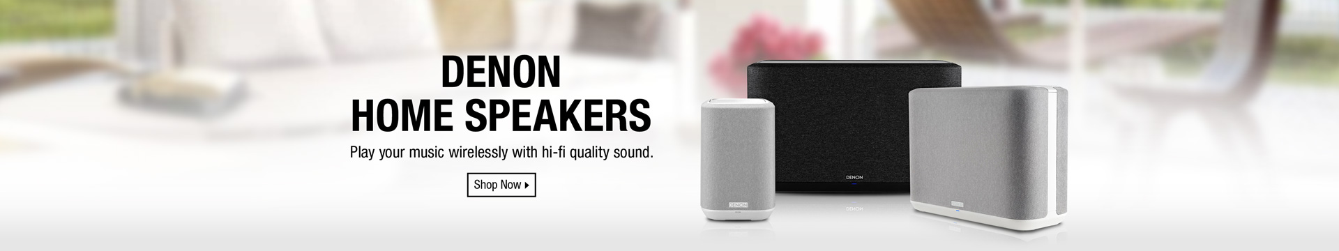 Denon Home Speakers