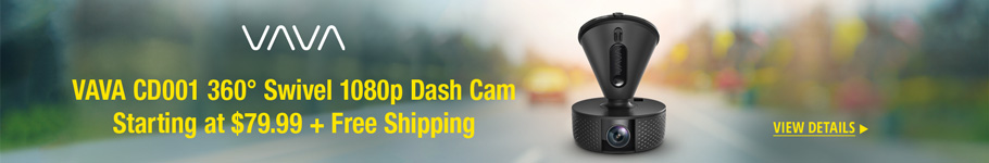 VAVA CD001 360° Swivel 1080p Dash Cam